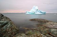 An Iceberg in Goose Cove, Newfoundland and Labrador