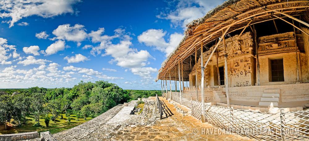 Ancient Mayan ruins at Ek'Balam, near Valladolid, Yucatan, Mexico