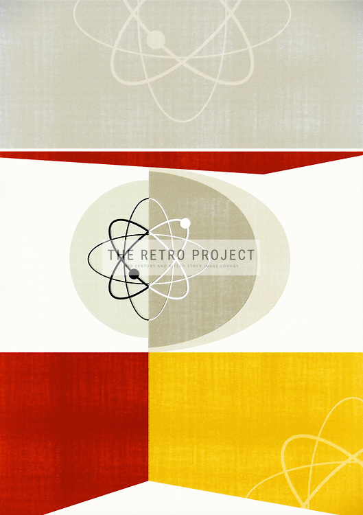 Atomic Structure on Geometric background