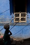Local street in Jodhpur, Rajasthan, India