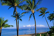 Kaanapali Beach, Kaanapali, Maui, Hawaii, USA<br />