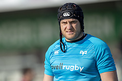 March 2, 2019 - Galway, Ireland - James King of Ospreys pictured during the Guinness PRO 14 match  between Connacht Rugby and Ospreys at the Sportsground in Galway, Ireland on March 2, 2019  (Credit Image: © Andrew Surma/NurPhoto via ZUMA Press)