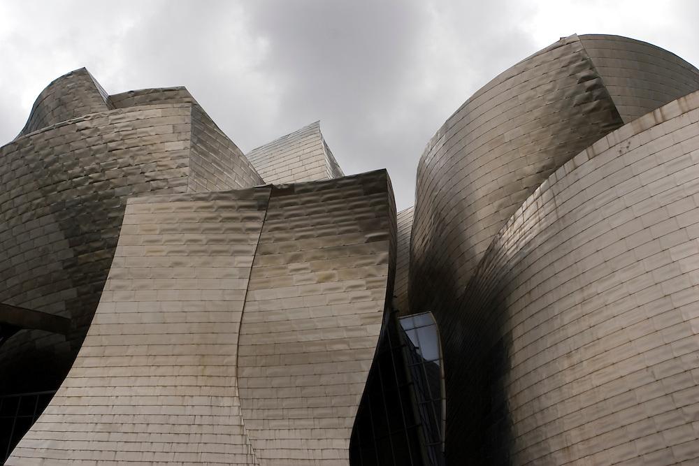 Guggenheim museum in Bilbao, Basque Country, Spain.