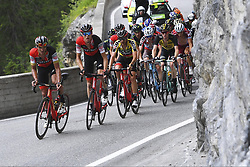 June 15, 2017 - Locarno / La Punt, Suisse - VAN AVERMAET Greg (BEL) Rider of BMC Racing Team, CARUSO Damiano (ITA) Rider of BMC Racing Team during stage 6 of the Tour de Suisse cycling race, a stage of 166 kms between Locarno and La Punt on June 15, 2017 in La Punt, Switserland, 15/06/2017 (Credit Image: © Panoramic via ZUMA Press)