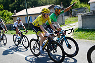 Geraint Thomas (GBR - Team Sky), yellow jersey, Peter Sagan (SVK - Bora - Hansgrohe) green jersey, during the 105th Tour de France 2018, Stage 18, Trie sur Baise - Pau (172 km) on July 26th, 2018 - Photo Luca Bettini / BettiniPhoto / ProSportsImages / DPPI