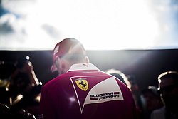 August 24, 2017 - Spa, Belgium - 05 VETTEL Sebastian from Germany of scuderia Ferrari signing autographs during the Formula One Belgian Grand Prix at Circuit de Spa-Francorchamps on August 24, 2017 in Spa, Belgium. (Credit Image: © Xavier Bonilla/NurPhoto via ZUMA Press)