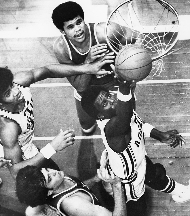 ©1978 Texas A&M vs. Texas basketball in College Station, TX.