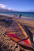 Windsurfer, Kanaha Beach, Maui, Hawaii<br />