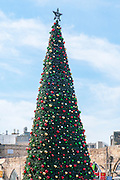 Large Christmas Tree in Jaffa, Israel