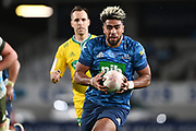 Hoskins Sotutu.<br /> Blues v Highlanders, Sky Super Rugby Trans-Tasman Final. Eden Park, Auckland. New Zealand. Saturday 19 June 2021. © Copyright Photo: Andrew Cornaga / www.photosport.nz