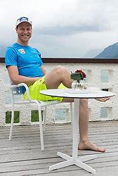 23.05.2016, Hotel Ambach, Kaltern, AUT, OeSV, Nordische Kombination, Trainingslager, im Bild Bernhard Gruber (AUT) // Bernhard Gruber of Austria during a Photocell of Austrian Ski federation Nordic Combined Team at the Hotel Ambach, Kaltern, Italy on 2015/05/23. EXPA Pictures © 2016, PhotoCredit: EXPA/ Johann Groder