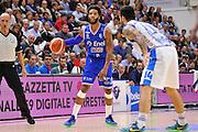 DESCRIZIONE : Beko Legabasket Serie A 2015- 2016 Dinamo Banco di Sardegna Sassari - Enel Brindisi<br /> GIOCATORE : Adrian Banks<br /> CATEGORIA : Palleggio<br /> SQUADRA : Enel Brindisi<br /> EVENTO : Beko Legabasket Serie A 2015-2016<br /> GARA : Dinamo Banco di Sardegna Sassari - Enel Brindisi<br /> DATA : 18/10/2015<br /> SPORT : Pallacanestro <br /> AUTORE : Agenzia Ciamillo-Castoria/C.Atzori