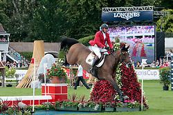 Philippaerts Ludo (BEL) - Challenge vd Begijnakker<br /> Dublin Horse Show 2012<br /> © Hippo Foto - Beatrice Scudo