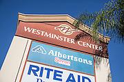 Westminster Center Signage