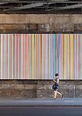 Poured Lines: Southwark, Ian Davenport