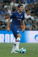 ISTANBUL, TURKEY - AUGUST 14: Andreas Christensen of Chelsea in action during the UEFA Super Cup match between Liverpool and Chelsea at Vodafone Park on August 14, 2019 in Istanbul, Turkey. (Photo by MB Media/Getty Images)