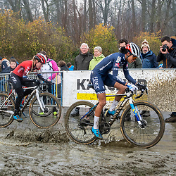 2020-01-01 Cycling: dvv verzekeringen trofee: Baal: Still some wet spots to be found