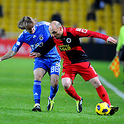 Fenerbahce's Caner ERKIN (L) during their Turkey Cup group c matchday 5 soccer match Fenerbahce between Genclerbirligi at the Sukru Saracaoglu stadium in Istanbul Turkey on Thursday 27 January 2011. Photo by TURKPIX