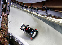 Bob<br /> Foto: Gepa/Digitalsport<br /> NORWAY ONLY<br /> <br /> KOENIGSSEE,GERMANY,13.DEC.15 - BOBSLEIGH - IBSF World Cup, four-man bob. Image shows Thomas Heibl, Korbinian Heibl, Andreas Bjugn and Alexander Winger (NOR).