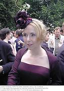 Joana Mackell,<br /> Faber & Faber summer party. Sq. London. <br />© Copyright Photograph by Dafydd Jones 66 Stockwell Park Rd. London SW9 0DA Tel 020 7733 0108 www.dafjones.com