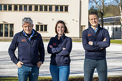 Sport Horse Clinic, Frank Van Hoeck, Willem Verhaeghe, Marie-Stéphanie Delheid<br /> Sport Horse Clinic - Lille 2021<br /> © Hippo Foto - Dirk Caremans<br /> 29/03/2021