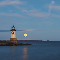 New England lighthouse photography of Fort Pickering Light with full cold moon rising across Winter Island Park in Salem, MA. This iconic Massachusetts lighthouse is located at Winter Island Park in Salem Massachusetts.<br /> <br /> Iconic New England lighthouses photography pictures are available as museum quality photography prints, canvas prints, acrylic prints, wood prints or metal prints. Fine art prints may be framed and matted to the individual liking and interior design decorating needs:<br /> <br /> https://juergen-roth.pixels.com/featured/full-moon-rising-at-fort-pickering-light-juergen-roth.html<br /> <br /> Good light and happy photo making!<br /> <br /> My best,<br /> <br /> Juergen<br /> Photo Prints: http://www.rothgalleries.com<br /> Photo Blog: http://whereintheworldisjuergen.blogspot.com<br /> Instagram: https://www.instagram.com/rothgalleries<br /> Twitter: https://twitter.com/naturefineart<br /> Facebook: https://www.facebook.com/naturefineart