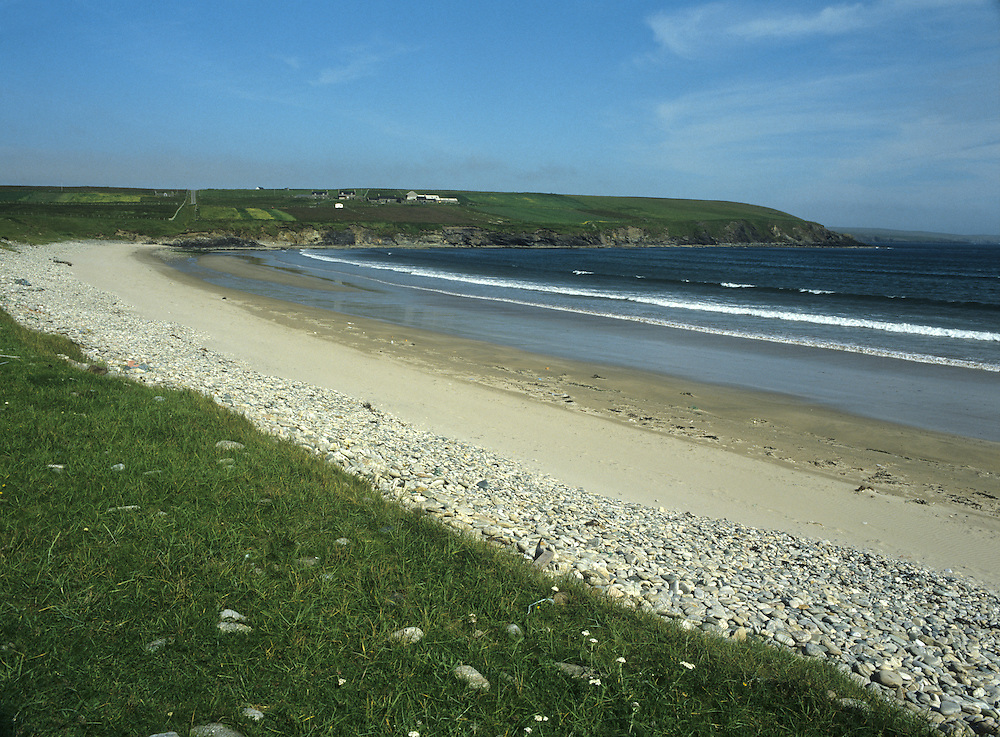 Sandy Beach, Fetlar, Shetland Isles