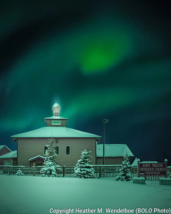 The Angel Cried<br /> St. Tikhon Orthodox Church<br /> 2020: Anchorage, Alaska<br /> <br /> Copyright statements displayed on screen will not appear on prints