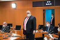 DEU, Deutschland, Germany, Berlin, 02.06.2021: Bundeswirtschaftsminister Peter Altmaier (CDU) vor Beginn der 144. Kabinettsitzung im Bundeskanzleramt.