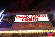 Atmosphere at The 2008 Black August Benefit Concert held at BB Kings on August 31, 2008..2008 begins the second decade of Black August Hip Hop Project benefit concerts which assist and support Political Prisoners. The Malcolm X Grassroots Movement is an organization whose mission is to defend the human rights of people and promote self-determination in our community.