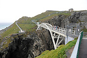 The bridge over Dunlough Bay at Mizen Head in West Cork leading to the lighthouse..Picture by Don MacMonagle