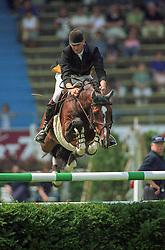 Geerink Peter (NED) - Heartbreaker<br /> CSIO Aachen 1999<br /> Photo© Dirk Caremans