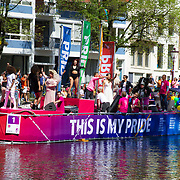 NLD/Amsterdam//20170805 - Gay Pride 2017, Boot Stichting Amsterdam Gaypride