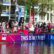 NLD/Amsterdam//20170805 - Gay Pride 2017, Boot Stichting Amsterdam Gaypride