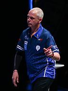 Mario Vandenbogaerde during the BDO World Professional Championships at the O2 Arena, London, United Kingdom on 11 January 2020.
