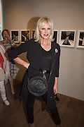 JOANNA LUMLEY, Preview of Terence Donovan: Speed of Light, Photographers Gallery, Ramillies Place, Thursday 14 July 2016,