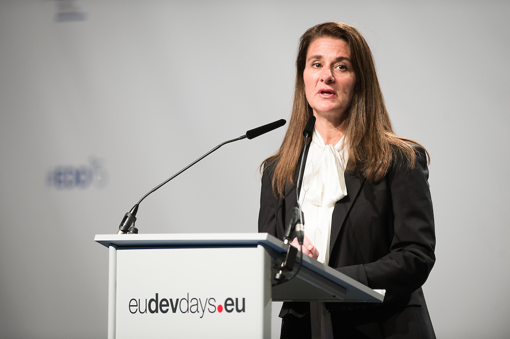 03 June 2015 - Belgium - Brussels - European Development Days - EDD - Opening Ceremony - Our World , our dignity , our future - Melinda Gates , Founder and Co-Chair , Bill and Melinda Gates Foundation © European Union