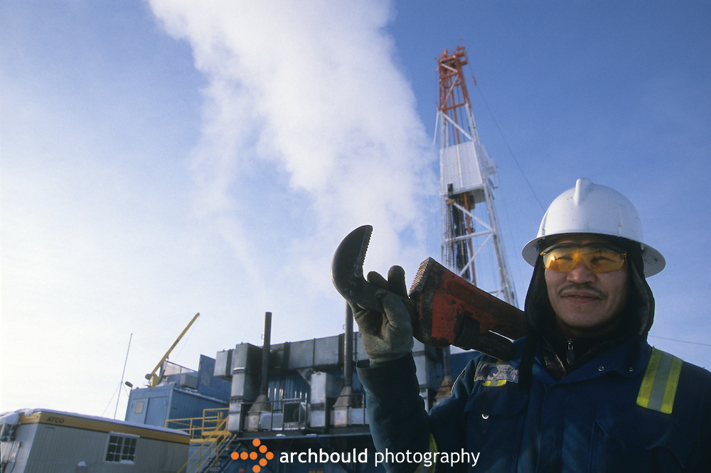 Oil rig worker, NWT<br /> <br /> NOT IN YOUR BUDGET? Contact Cathie for a price specific to your project.