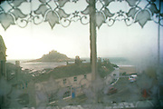 1977_Window_On_Mount_St_Michael.  Cornwall, England.