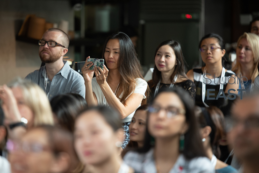 Brands in the social spotlight, by Stephen Dale, General Manager APC, Digimind, during Asia's Top 1000 Brands in Esplanade, Singapore, Singapore, on 6 September 2018. Photo by Steven Lui/Studio EAST