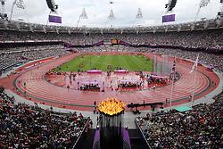 Olympics - London 2012 Olympic Games - 3/8/12.Athletics, Olympic Flame, Stadium, Olympia.©Êpixathlon *** Local Caption ***