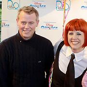 NLD/Rotterdam/20110401 - Premiere Disney on Ice 2011, Chazia Mourali, partner Marc Schröder