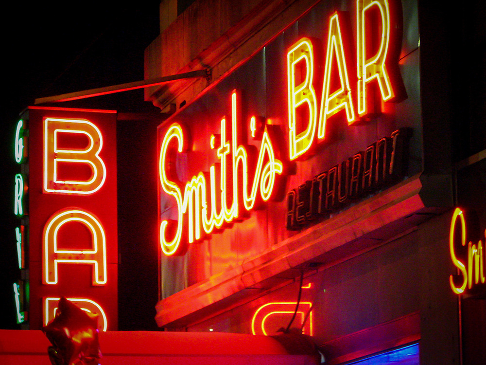 The one and only Smiths bar on 8th Av. NYC 2007
