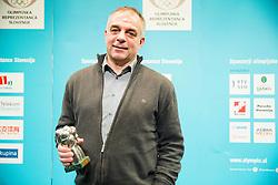 Matjaz Kopitar, father of Anze Kopitar at Slovenian Sports personality of the year 2014 annual awards presented on the base of Slovenian sports reporters, on December 9, 2014 in Cankarjev dom, Ljubljana, Slovenia. Photo by Vid Ponikvar / Sportida