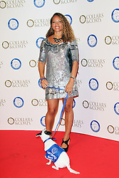 © Licensed to London News Pictures. 30/10/2014, UK. Angela Griffin, Battersea Dogs & Cats Home's Collars & Coats Gala Ball, Battersea Evolution, London UK, 30 October 2014. Photo credit : Richard Goldschmidt/Piqtured/LNP