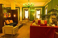 Lobby of the Hotel Monaco, Washington D.C., U.S.A.