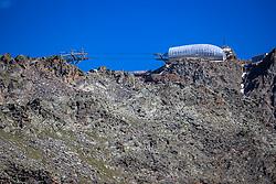 THEMENBILD - Bergstation der Gaislachkogelbahn II. Der Gaislachkogel ist ein (3056m) hoher Berg in den Ötztaler Alpen in Tirol, Österreich. Sölden am Donnerstag den 09.07.2020 // Mountain station of the Gaislachkogelbahn II. The Gaislachkogel is a (3056m) high mountain in the Ötztal Alps in Tyrol, Austria. Soelden, Austria on Thursday, July 9th, 2020. EXPA Pictures © 2020, PhotoCredit: EXPA/ Johann Groder