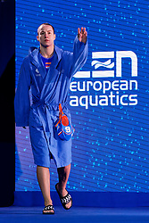 21-01-2020 HUN: European Water polo Championship, Budapest <br /> Slovakia - Netherlands 2—32 / Nomi Stomphorst #6 of Netherlands of Netherlands during LEN European Aquatics Waterpolo on January 21, 2020. SVK vs Netherlands in Duna Arena in Budapest, Hungary