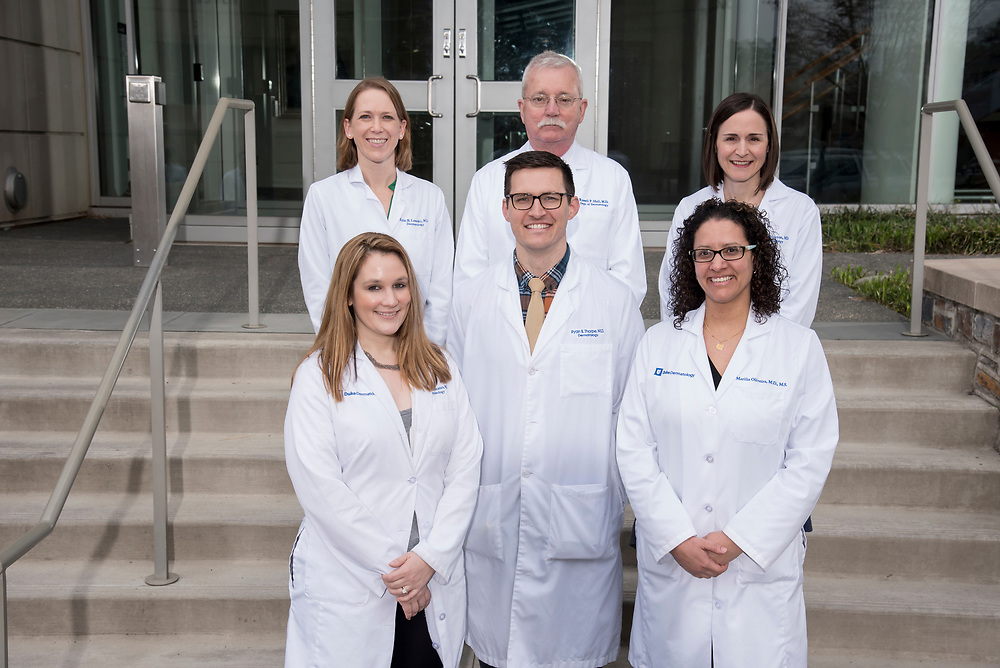 Department of Dermatology faculty and residents group at Trent-Semans