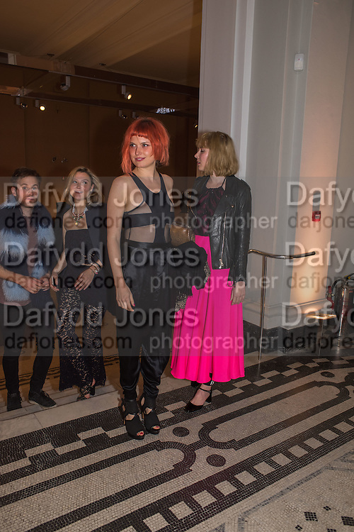 AMBER ATHERTON; DJ HENRI; PAULA GOLDSTEIN, Undressed: A Brief History of Underwear<br /> At the V&A , South Kensington. London. 13 April 2016